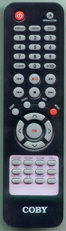 COBY DVD257 Genuine  OEM original Remote