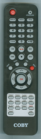 COBY DVD657 Genuine  OEM original Remote