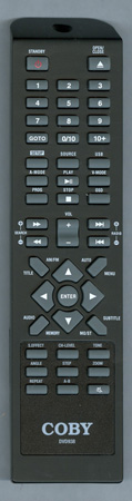 COBY DVD938 DVD938 Genuine  OEM original Remote