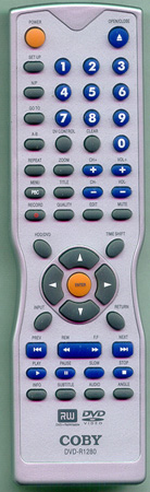 COBY DVDR1280 DVDR1280 Genuine  OEM original Remote