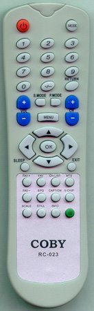 COBY RC-023 RC023 Genuine  OEM original Remote