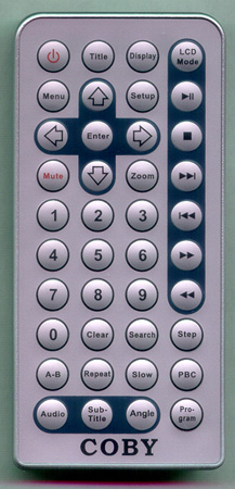 COBY TFDVD7005 Genuine  OEM original Remote