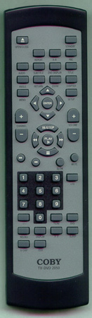 COBY TVDVD2050 Genuine  OEM original Remote