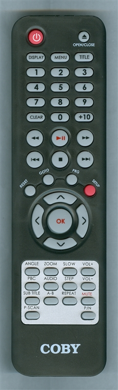 COBY DVD283 Genuine  OEM original Remote