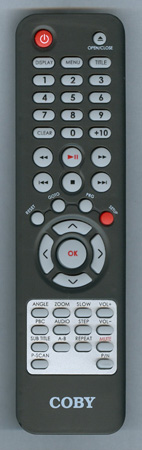 COBY DVD765 Genuine  OEM original Remote