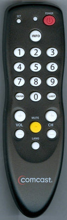 Comcast Replacement Cable Remote Control: ComcastDTA