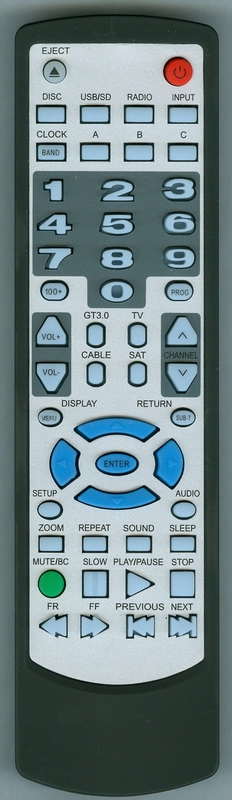 CONCERTONE ZX700V2 Genuine OEM original Remote