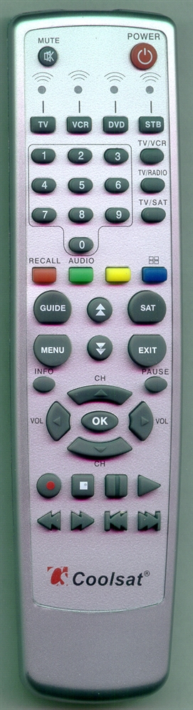 COOLSAT COOLSATREMOTE Refurbished Genuine OEM Original Remote