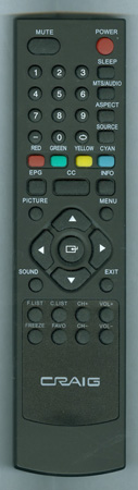 CRAIG CLC503 Genuine  OEM original Remote