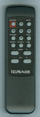 CRAIG CHT907RC Genuine OEM original Remote
