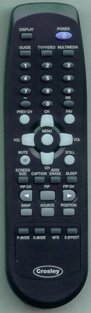 CROSLEY C37HDGB Genuine  OEM original Remote