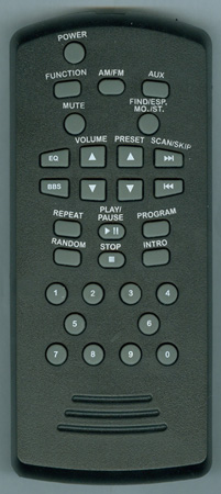 CROSLEY CR122 Genuine OEM original Remote