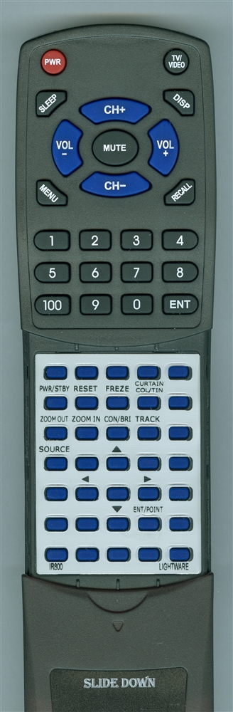 CTX IR800 RC-80101 Custom Built  Redi Remote