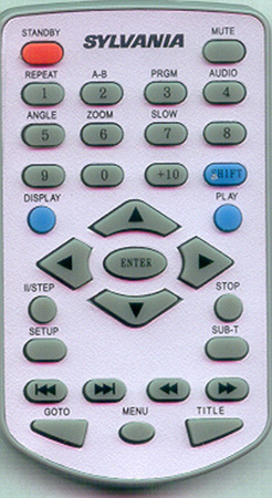 CURTIS INTERNATIONAL DVD8017 Genuine OEM original Remote