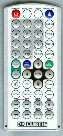 CURTIS INTERNATIONAL KCR2620 Genuine OEM original Remote