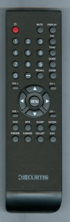 CURTIS INTERNATIONAL LCD4680AW Genuine  OEM original Remote