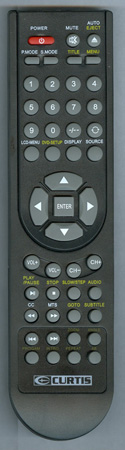CURTIS INTERNATIONAL LCDVD151A Genuine OEM original Remote