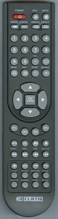 CURTIS INTERNATIONAL 9CD Genuine OEM original Remote