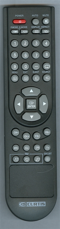 CURTIS INTERNATIONAL 9R CURTIS Genuine OEM original Remote