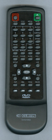 CURTIS INTERNATIONAL DVD1053 Genuine OEM original Remote