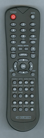 CURTIS INTERNATIONAL LCDVD152 Genuine OEM original Remote