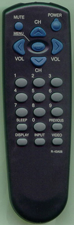 DAEWOO 48B4343A08 R43A08 Genuine  OEM original Remote