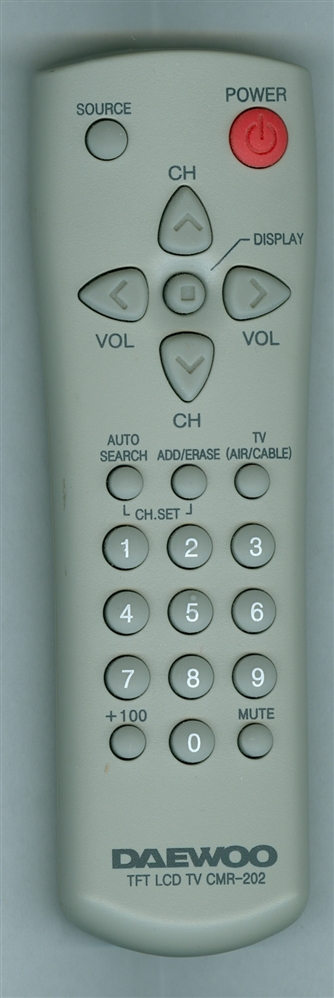 DAEWOO CMR-202 CMR202 Refurbished Genuine OEM Original Remote