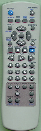 DAEWOO DVC3000 Genuine  OEM original Remote