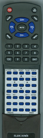 DAEWOO 07640DW150 07640DW150 Custom Built Redi Remote