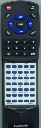 DAEWOO 97P1R2BA02 Custom Built Redi Remote