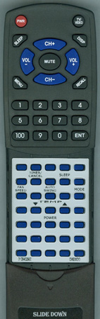 DAEWOO 3108402900 Custom Built Redi Remote