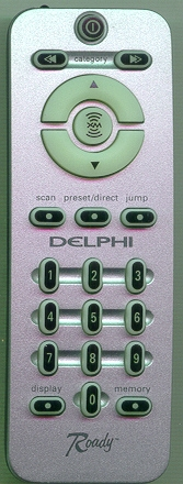 DELPHI 0SA10042 Refurbished Genuine OEM Original Remote