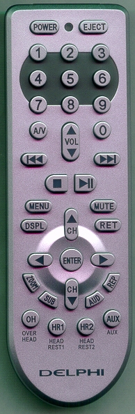 DELPHI MV10007-11P1 Refurbished Genuine OEM Original Remote