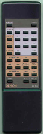 DENON 3990207004 RC166 Genuine  OEM original Remote