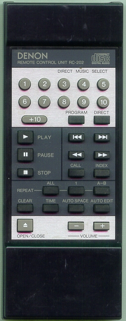 DENON 4990077000 RC202 Refurbished Genuine OEM Remote