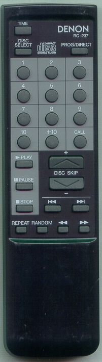 DENON 4990214009 RC237 Refurbished Genuine OEM Original Remote
