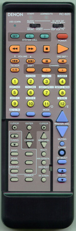 DENON 3990332005 RC-820 Genuine OEM original Remote