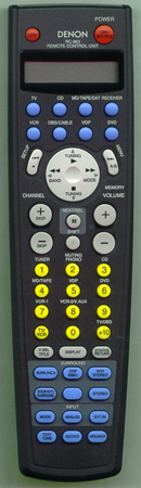 DENON 3990554003 RC-863 Genuine  OEM original Remote