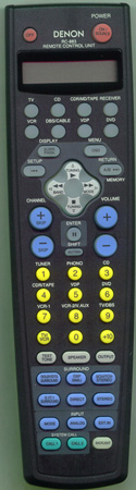 DENON 3990642009 RC-883 Genuine  OEM original Remote