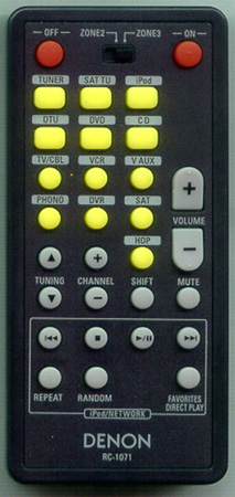 DENON 3991098005 RC-1071 Genuine OEM original Remote
