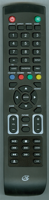 GPX REM-TDE4074-LZ Genuine OEM original Remote