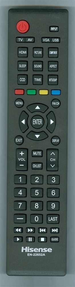 HISENSE 160678 EN22652A Refurbished Genuine OEM Original Remote