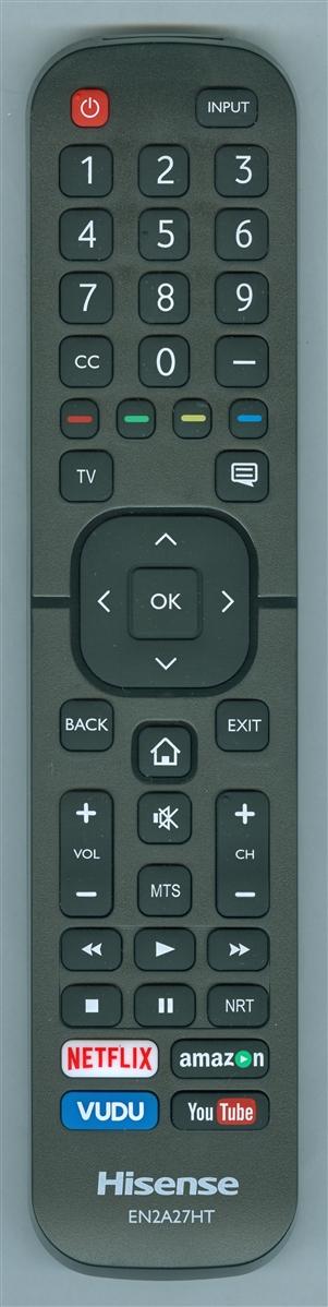 HISENSE 208303 EN2A27HT Genuine OEM Original Remote