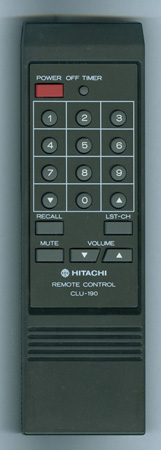 HITACHI 2584302 CLU190 Genuine  OEM original Remote