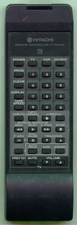 HITACHI 5614652 VTRM121A Genuine  OEM original Remote