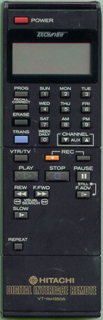 HITACHI 5637553 VTRM1350A Genuine  OEM original Remote