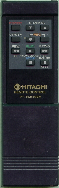 HITACHI 5638731 VTRM1400A Refurbished Genuine OEM Original Remote