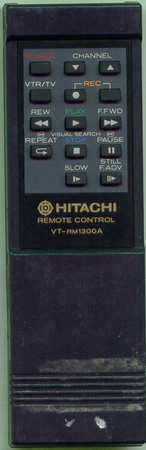 HITACHI 5638732 VTRM1300A Genuine  OEM original Remote