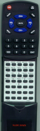 HITACHI HL00715 CLU-615MP Custom Built Redi Remote
