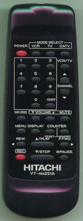 HITACHI TC10876 VTRM221 Genuine  OEM original Remote